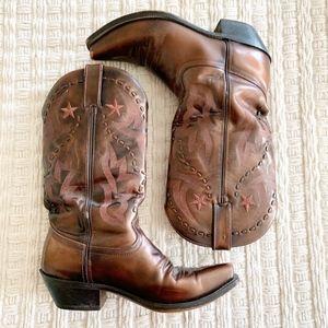 Durango Cowboy Boots Bronze Metallic